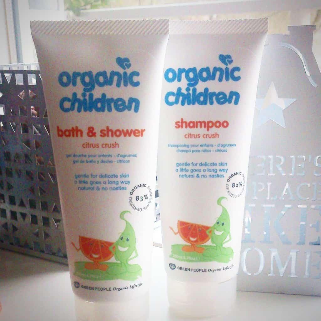 Organic Children Shampoo + bad/douchegel Citrus Crush | Green People