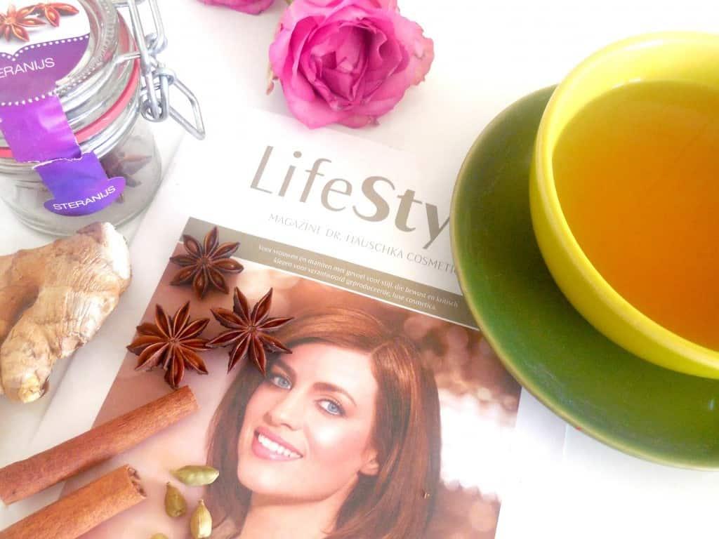 gember en steranijs thee