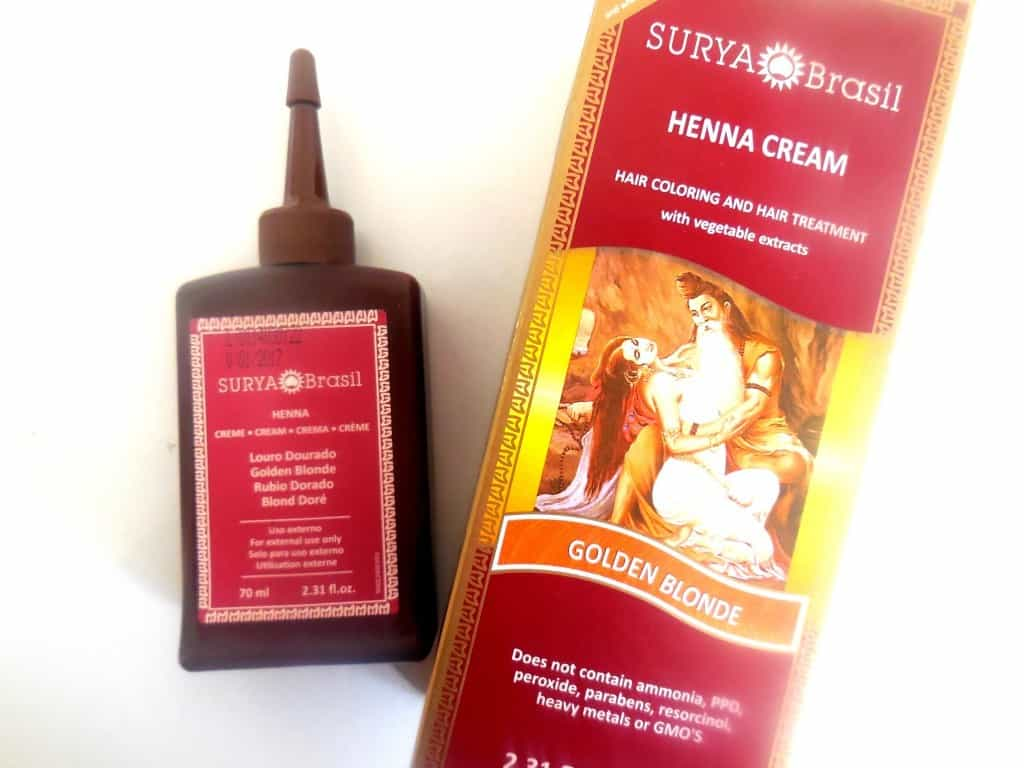 Surya Brasil Henna Cream Golden Blonde