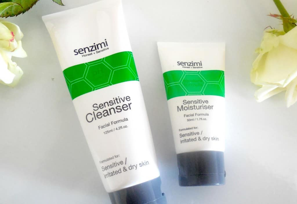 Senzimi cleanser & moisturiser review