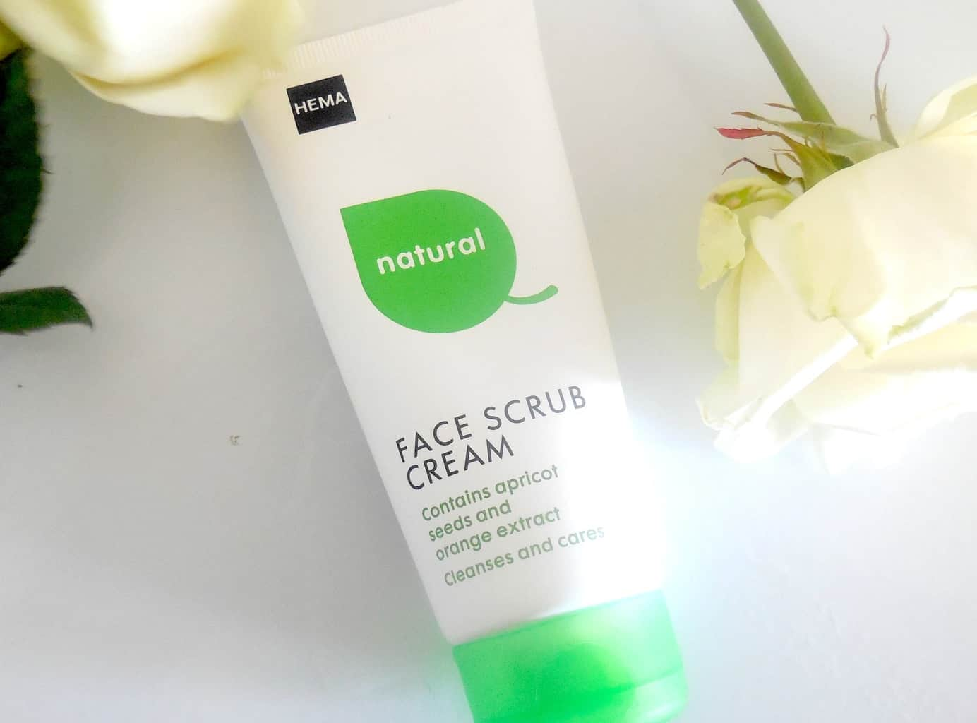 hema natural face scrub