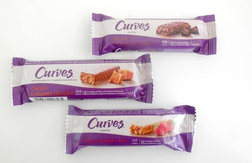 Curves maaltijd- en snackrepen