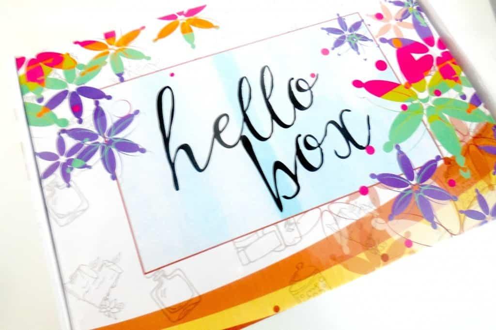 unboxing hello box juni 2015
