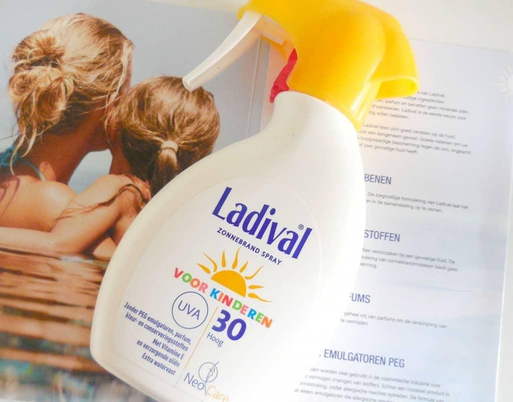 ladival zonnebrandcrème voor kinderen spf 30