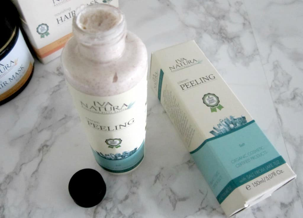 iva natura cream peeling review