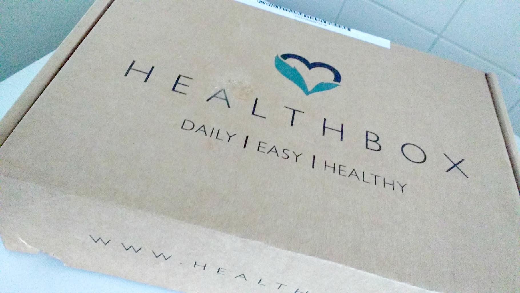 Unboxing healthbox februari 2016