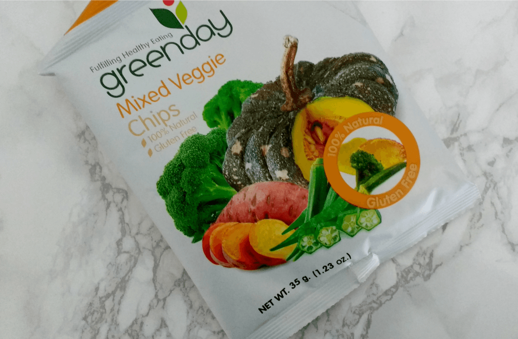 Greenday mixed veggie chips