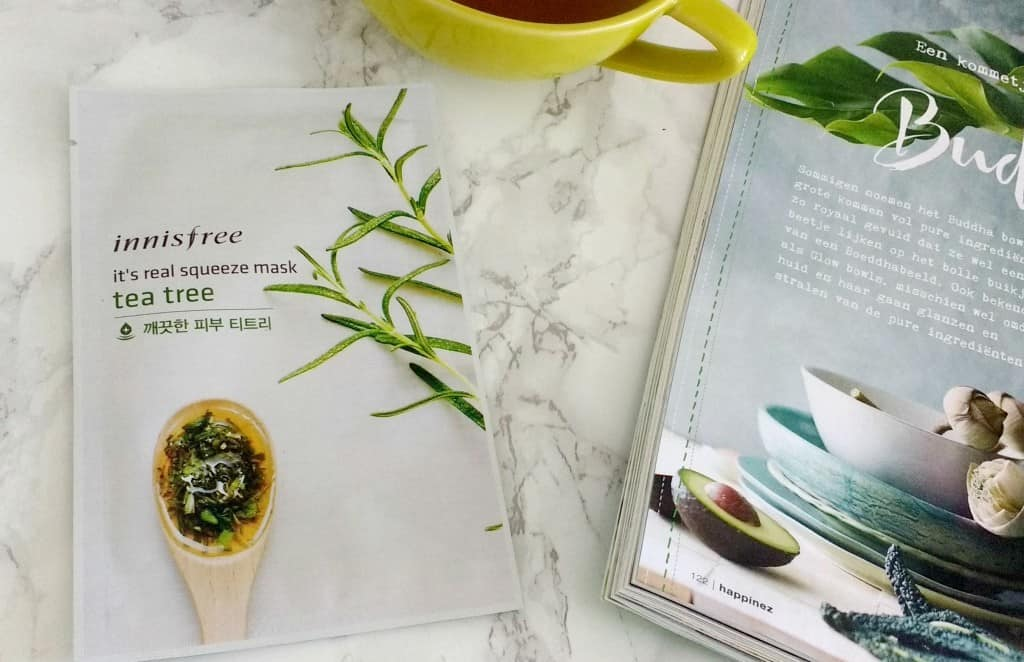Innisfree Tea Tree Sheet Mask