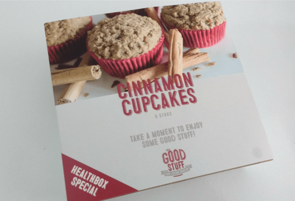 The good stuff company - cinnamon cupcakes