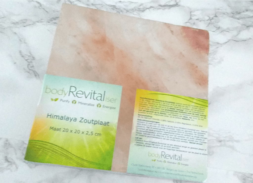 Zoutplaat Bodyrevitaliser healthbox