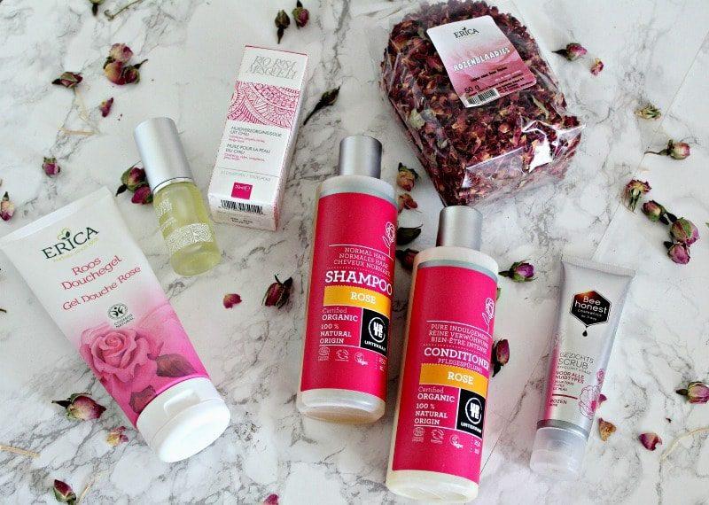 natuurlijke beautyproducten rozen