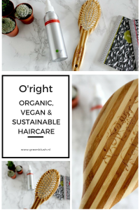 o'right organic, vegan, cruelty free hair care review