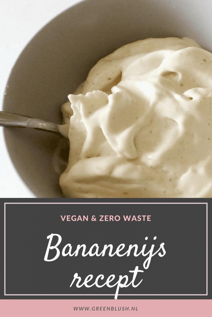 Bananenijs: gezond, lekker, vegan & zero waste. Eenvoudig recept!