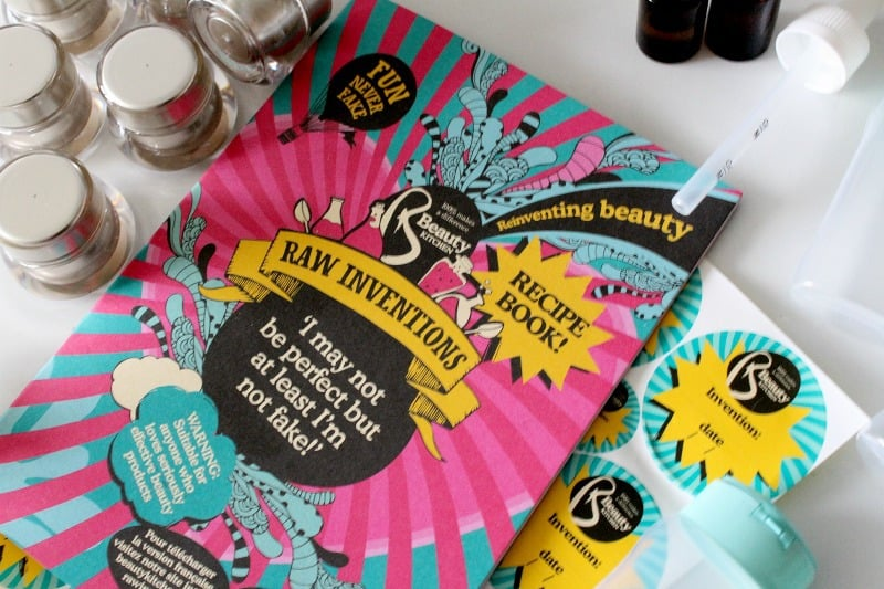 beauty kitchen raw inventions